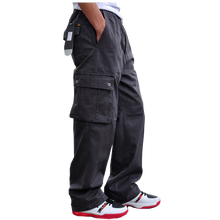 Men Cargo Pant 2019 Mens Casual Multi Pocket Cotton Military