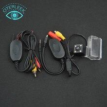 Беспроводной Автомобиля Резервную Парковка Обратный Заднего Вида PAL Камера Заднего вида Для PEUGEOT 307 Sedan