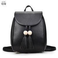 Yumuşak pu Deri Bayanlar için kırmızı Sırt Çantası yüksek kaliteli kahverengi omuz çantaları sırt çantaları genç kız Tiki Tarzı Seyahat Okul Çantası