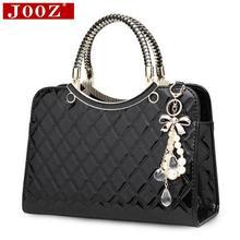Fashion Wild women handbags Famous brand Designe Luxury Patent Leather Handbag sac a main bolsos women messenger bag Tote bag