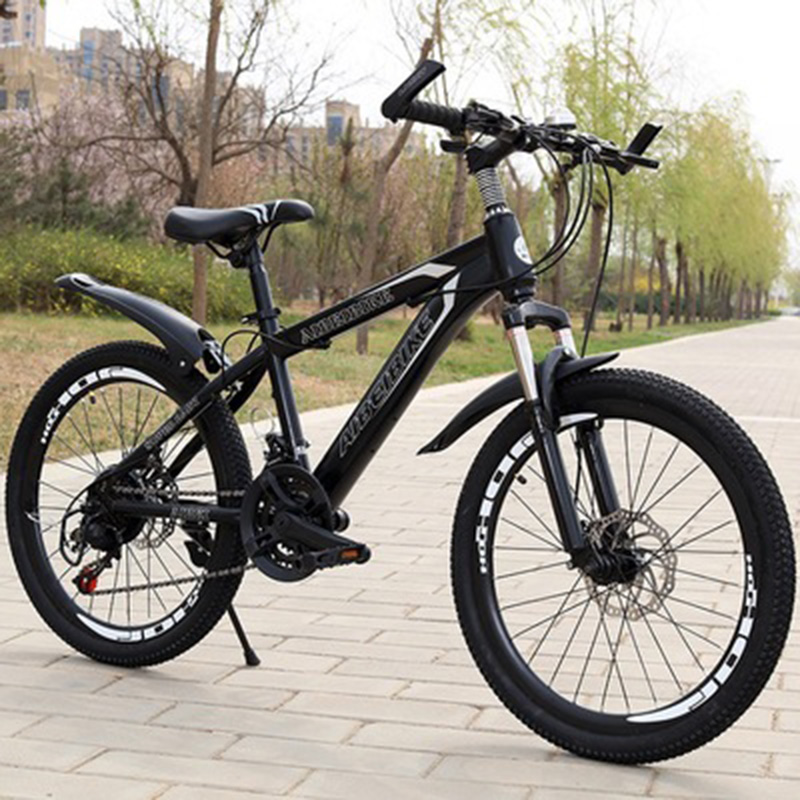Student Adult 24-Speed Two-Disc Brake Shock Absorber 20-Inch Mountain BikeStudent Adult 24-Speed Two-Disc Brake Shock Absorber 20-Inch Mountain Bike