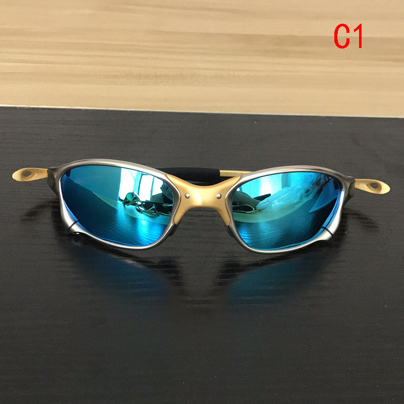Sunglasses Men Polarized Cycling Glasses Alloy Frame Sport Riding Eyewear Oculos De Ciclismo Gafas CP005-4(China)