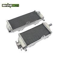 BIKINGBOY Aluminium Cores MX Offroad Motocross Cooling Engine Radiators for YAMAHA WR 450F WR 450 F WR450F 2012 2013 2014 2015