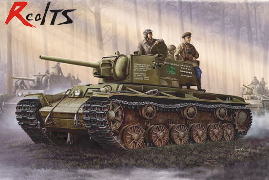 RealTS Trumpeter 00358 1/35 Russian KV-1 Model 1942 Simplified Turret 1:35 Tank