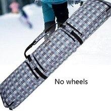 80d8b5e364ca Wheeled snowboard bag double board snowboard bag shoulder ski backpack  checked ski package special offer(