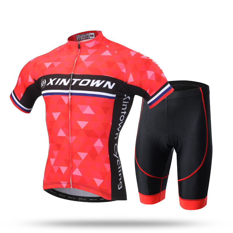 XINTOWN Men Pro Team Specialized Summer Men Maillot Ropa Ciclismo Clothing Custom Bike Short Sleeve Funny Cycling Jersey Sets polyester summer breathable cycling jerseys pro team italia short sleeve bike clothing mtb ropa ciclismo bicycle maillot gel pad