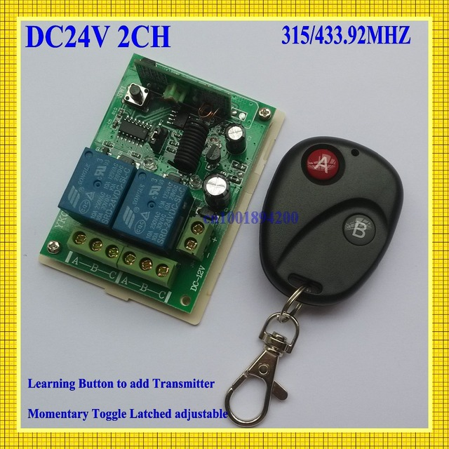 Aliexpresscom Buy DCV CH Relay Remote Control Switch - Toggle on off relay