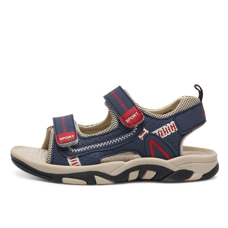2018 New Summer Childrens Sandals Soft Bottom Non-Slip Sandals For Kids Brand Childrens Shoes Boy Casual Sandals KS442