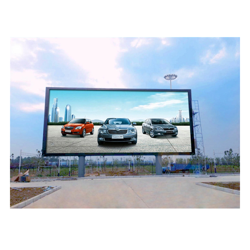 512X512mm Die Casting Aluminum Cabinet P8 SMD3535 Outdoor Waterproof HD LED Video Wall Screen Display