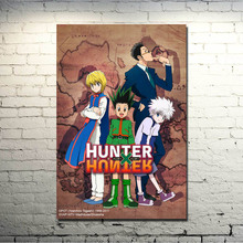 Hunter x Hunter  Silk Fabric Poster