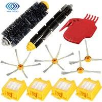 Side Brush HEPA Filter 1 Bristle Beater Brush For 700 Series Vacuum Cleaner Robots 760 770