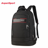 AspenSport 2017 Waterproof Unisex Business Backpack Men S 15 Laptop Backpack Fashion Women Notebook Bag Travel
