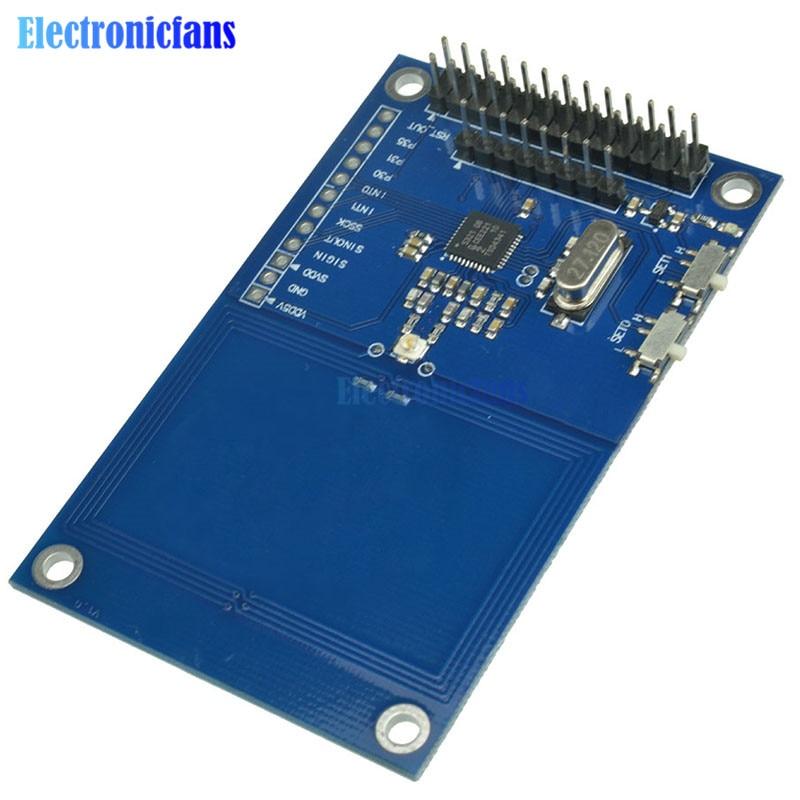 US $6 26 12% OFF PN532 NFC Precise RFID IC Card Reader Module Shield V3  13 56MHz SPI IIC I2C UART 3 3V NFC Board For Arduino UNO R3 Raspberry PI-in