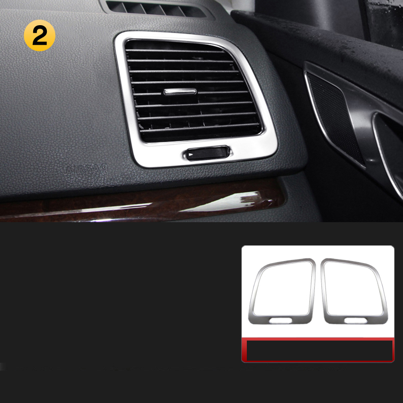 Lsrtw2017 Car Dashboard Air Conditioning Vent Trim For