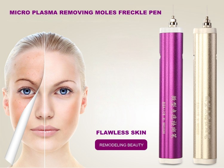 2 Color New Therapy Acne Laser Dot Mole Pen Beauty Facial Skin Care Machine Spot Freckle Mole Warts Removal Pen home care laser light therapy instrument wrist watch type reduce high blood pressure