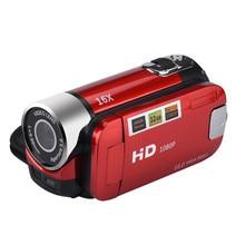 Free Shipping 2.7 inch TFT LCD HD 1080P HD Video Camera Camcorder 16x Digital Zoom Handheld Digital Cameras *30