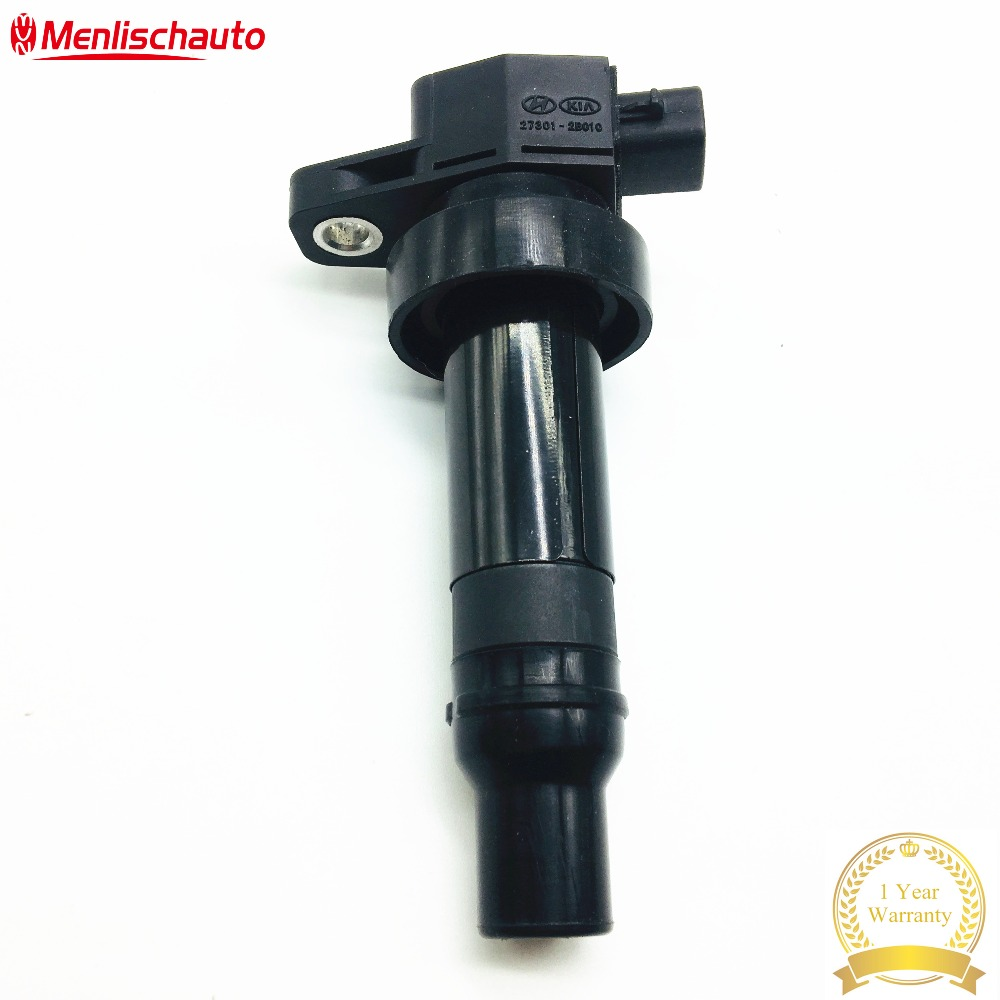 High Performance Auto Parts Ignition Coil Replacement OEM 27301 2B010 for Korean Cars Accent i30 i20 i30 CW 1 6L in Ignition Coil from Automobiles Motorcycles