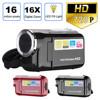 Video Camcorder HD 720P Handheld 16 Million Pixels Digital Camera LED Flash 4x Digital Zoom 2.0 Inch Extended Memory SD/MMC 32GB
