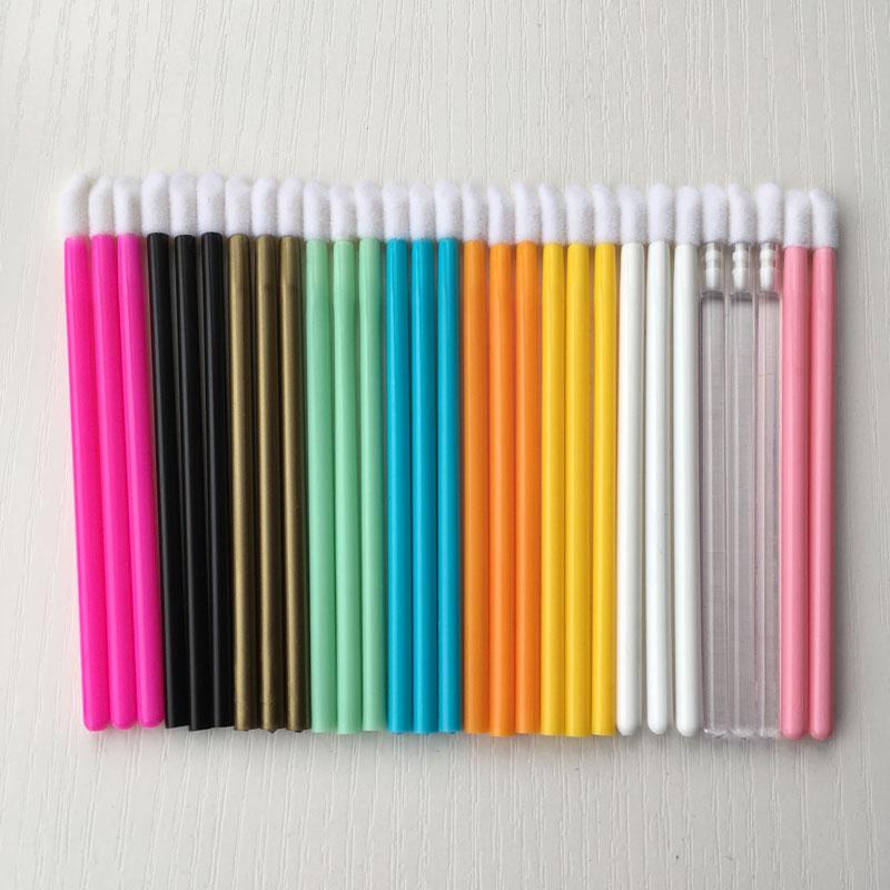 1000pcs Disposable lip Brush Wand Applicator Lip Gloss Lip Liner Lipstick Mascara Makeup Tool Makeup brush