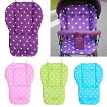 лучшая цена Baby Stroller Seat Cushion Pushchair High Chair Pram Soft Mattresses Toddler Infant Carriages Seat Pad Baby Car Seat Accessories