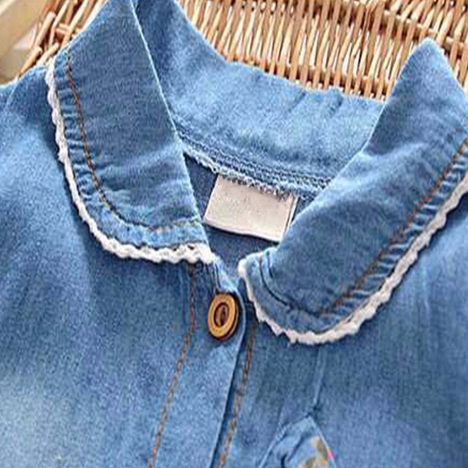 6b603c3dd Startist Baby Girl Dress Spring Baby Denim Dress For Infants Casual Toddler  Baby Dresses Girls Clothes Vestido Infantil-in Dresses from Mother & Kids  on ...