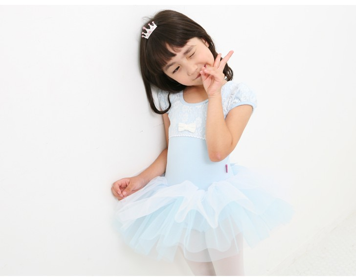 retail & wholesale Light purple short sleeves Children's ballet skirt,girls's dancing TUTU skirt
