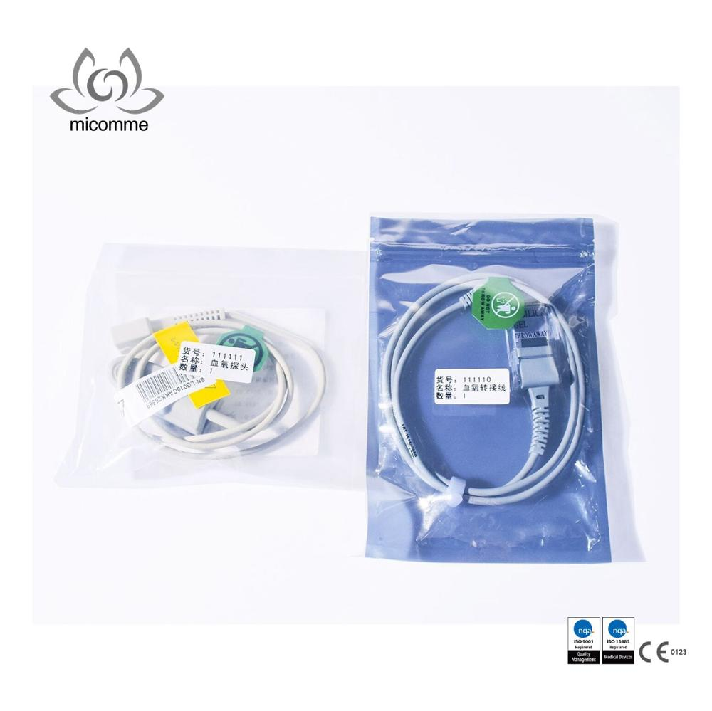 Adult Finger Clip SpO2 Sensor Monitor Patient only for Sepray Non-invasive Ventilators Don't sell seprately reusable nellcor spo2 sensor for adult finger clip 7pin 3m