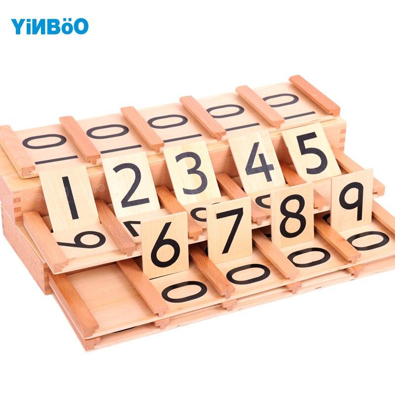 Montessori jouets éducatifs en bois pour enfants adolescents et dizaines planches formation préscolaire de la petite enfance