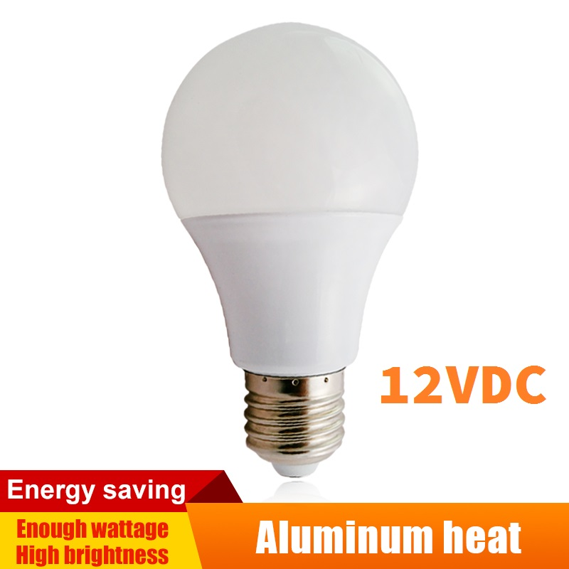 12v DC E27 LED Lamps Actual Power Aluminum Board Bulbs  Lighting Domestic Interior LED Globe 3w/5w/7w/9w/12w/15w/24w/36w