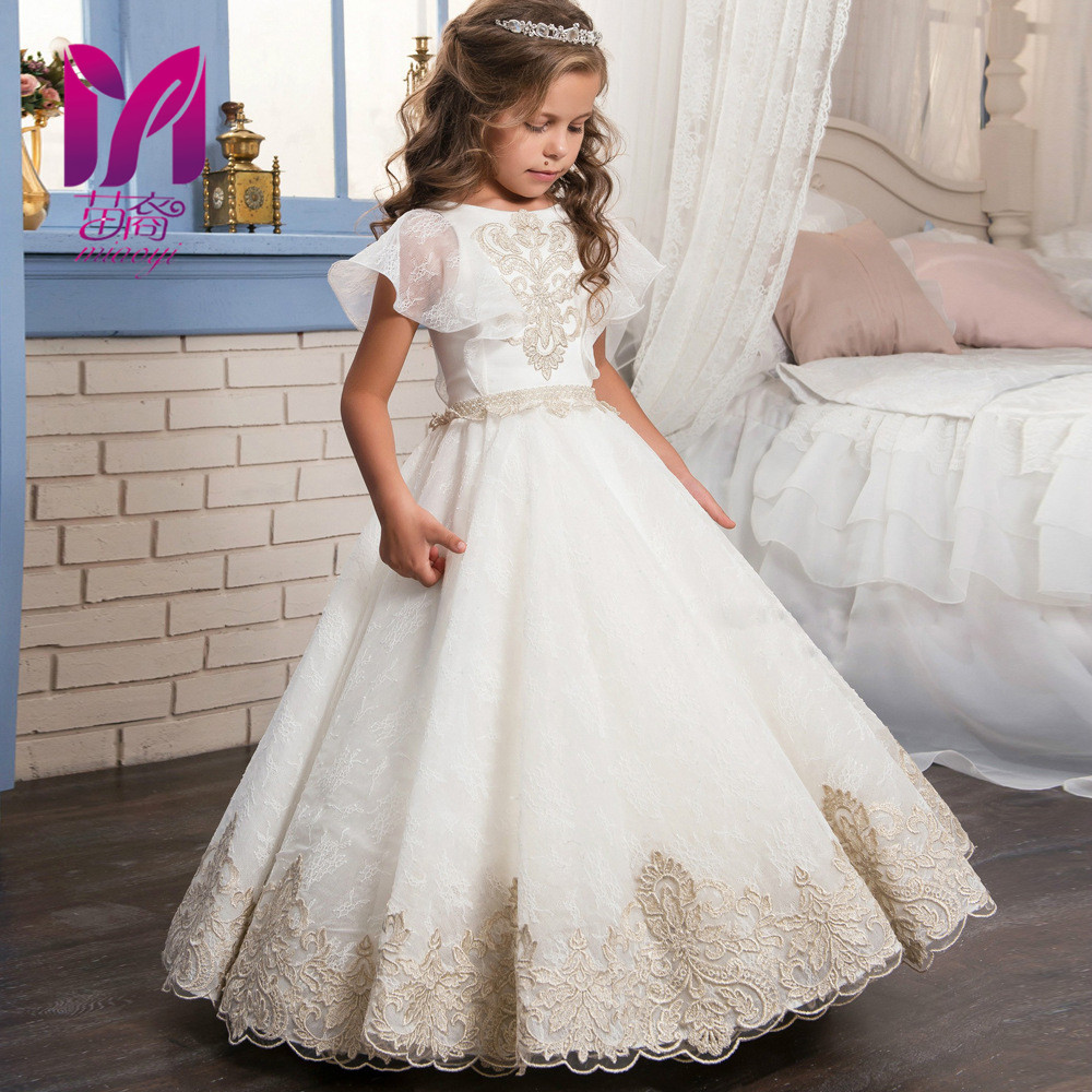 Online get cheap toddler gowns child bridesmaid dress aliexpress 2017 miayi kids infant girl petals dress children bridesmaid toddler elegant dress pageant formal party dress ombrellifo Images