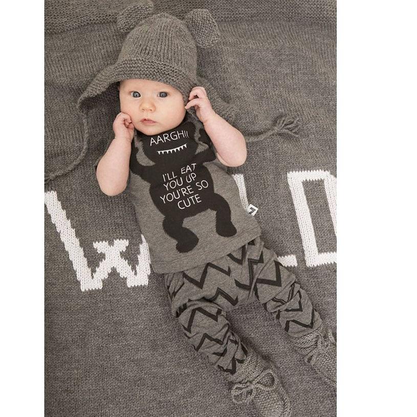 New Born Baby Clothes Cute Fashion Sets Boys Girls Brand Infantil Spring Babykleding Underwear Cotton Baby