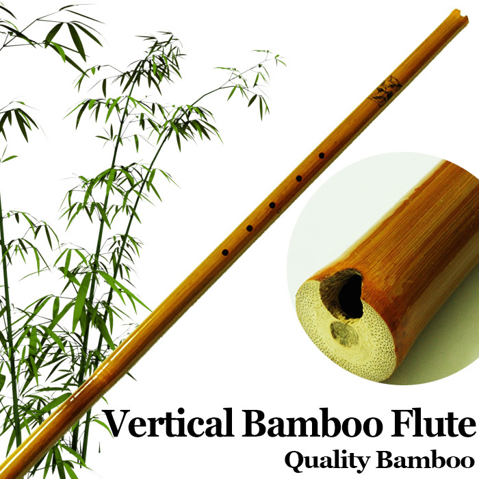 Kinesisk Vertikal Bambus Fløjte Etnisk Traditionel Træ Vind Musikalisk Instrument Bambu Flauta Begynder Xiao 6Hole Håndlavet F / G