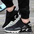 Мужская Обувь На Открытом Воздухе Повседневная Обувь Спорт Холст Обувь Лоскутное Дышащий Гуляя Sapatostenis Мужской Плоским Zapatillas Mujer