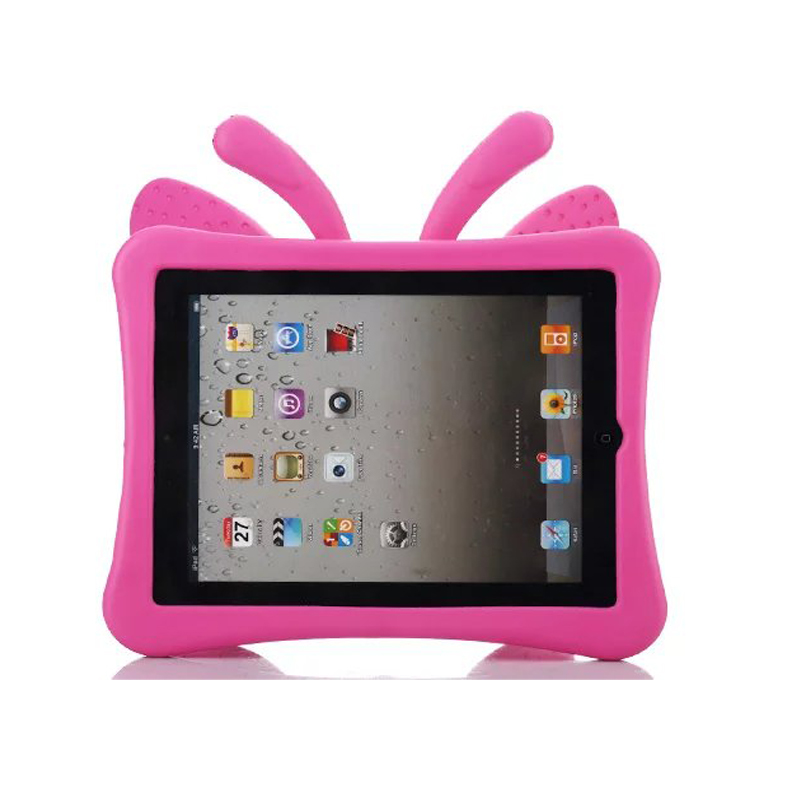 3D Cartoon Butterfly Case For Apple iPad 2 3 4 Case for ipad 4 Kids Safe Stand Shockproof Tablet Cover for ipad 3 for ipad 2