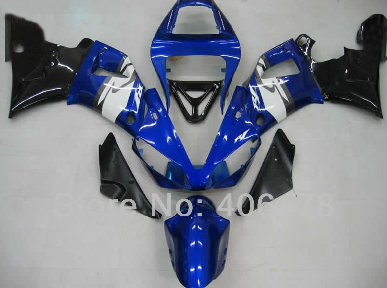 Hot Sales,98 99 YZF1000 R1 fairing For Yamaha Yzf R1 1998 1999 Sport Motorcycle Blue and Black Fairings (Injection molding) hot sales for yamaha yzf r1 2007 2008 accessories yzf r1 07 08 yzf1000 black aftermarket sportbike fairing injection molding