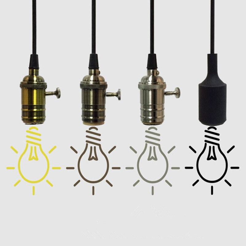 Loft Edison bombilla luz Simple comedor luz colgante almacén luz café envío libre