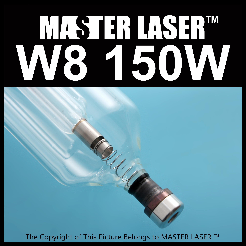 reci CO2 Glass Laser Tube W8 150w Peak Power 180W for Metal Laser Cutting Machine co2 laser machine power supply 150w for efr laser tube