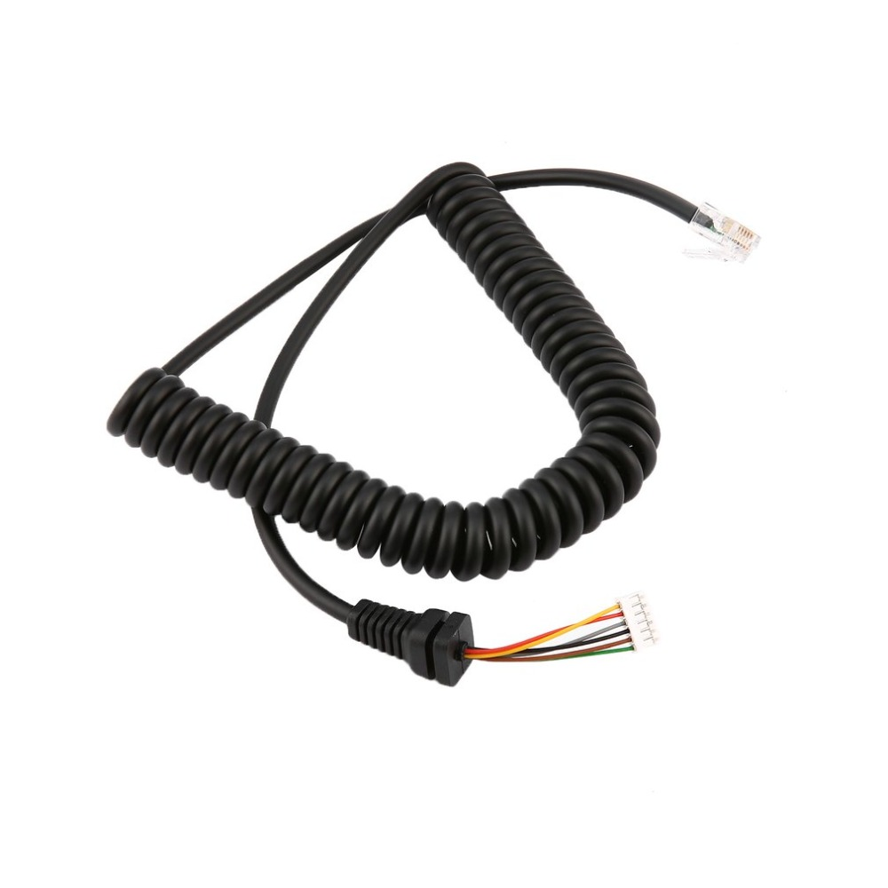 Professional Replacement Microphones Cable Mic Cord Wire For Yaesu MH-48A6J FT-7800 FT-8800 FT-8900 FT-7100M FT-2800M FT-8900R
