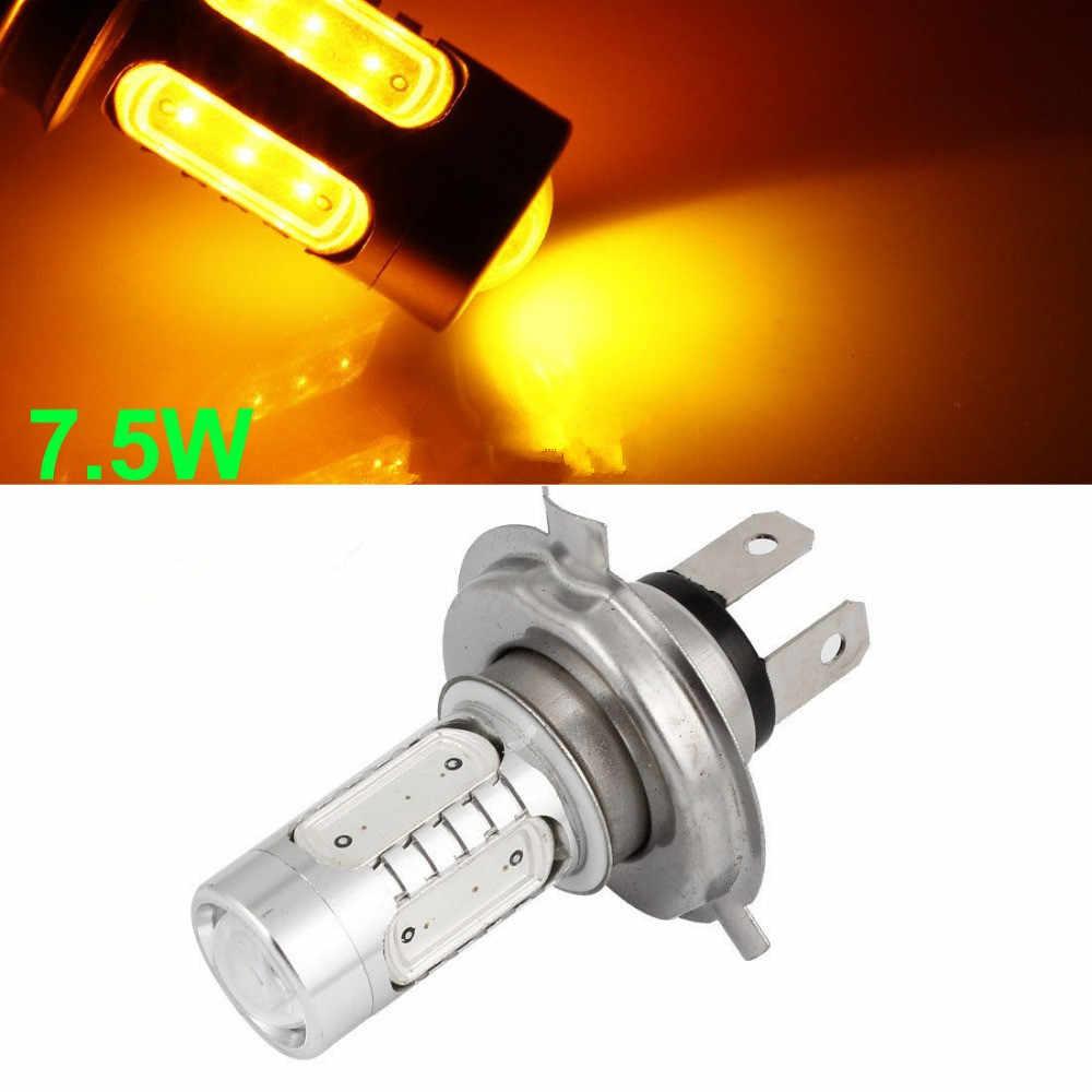 Cheap High Power H4 9003 HB2 7.5W White For Driving High Low Beam COB LED Light Bulb Amber Green