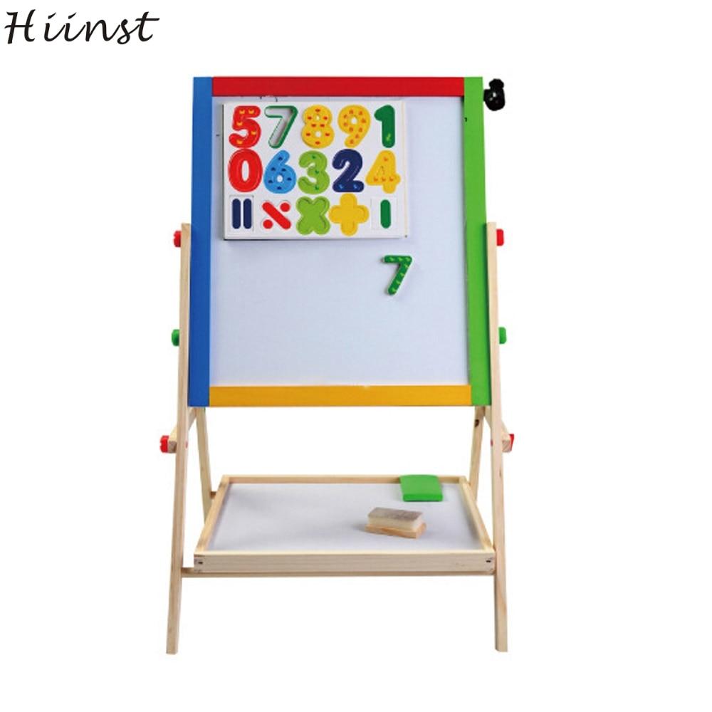 Hiinst Best продавец шт деревянные магнитные цифры, математические ребенок учится развив ...