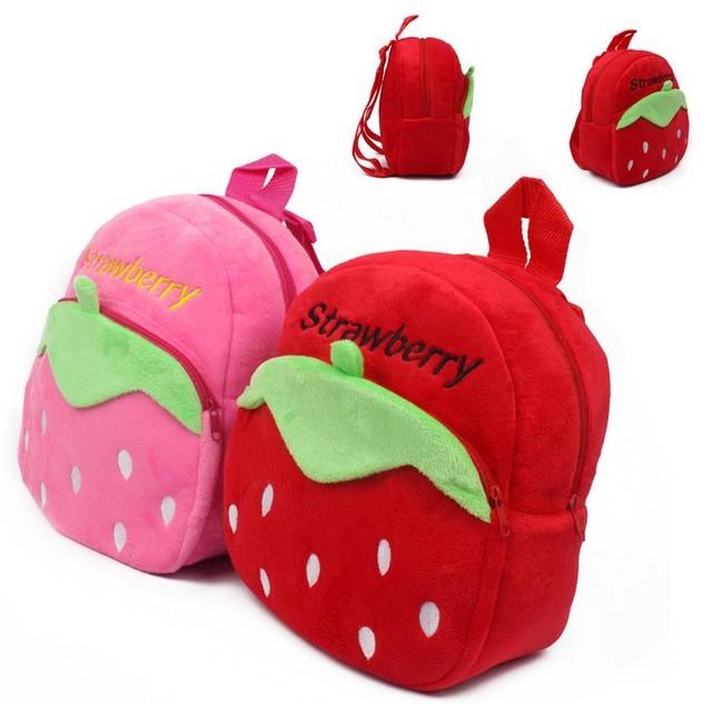 1 2 year old School Bags Baby Girls Strawberry School Bags Kids ...
