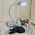Nuevo USB LED Lámpara de Mesa Lámparas de Escritorio con 28 Bombillas LED lamparas de mesa Para El Dormitorio abajour lampara Luz blanca Brillante led SZ035 * 20