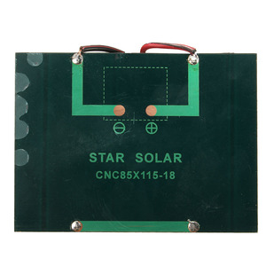 Image 5 - Hot Koop 12 V 1.5 W 100 MAh Polykristallijne silicium Zonnepaneel PV module Mini Zonnecellen Batterij Telefoon oplader met Lasdraad