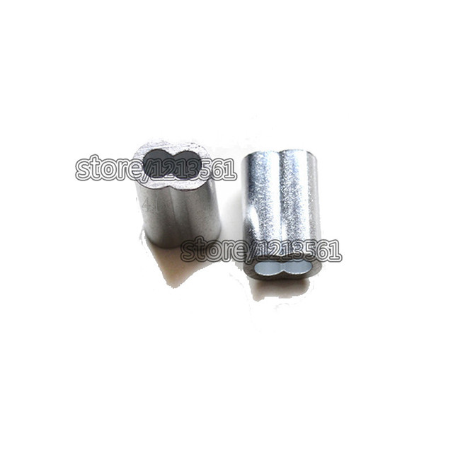 3.2mm Aluminum Cable Crimp Sleeve Cable Ferrule Stop for Snare Wire ...