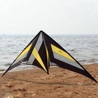 Открытый игрушки весело 8.2ft двойной линии трюк кайт Сокол балетная команда Спорт Кайт пляж Летающий мощность кайт