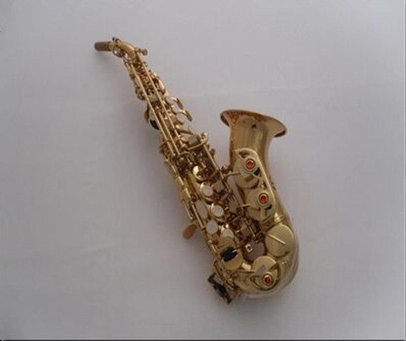 France Henri SElMER soprano saxophone Tom BB Soprano courbe saxophone B créé instrument de musique Saxophone pour enfants sax