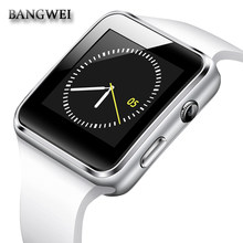 BANGWEI Bluetooth Smart Часы Smartwatch Android Телефонный звонок Relogio 2 г/м² sim-карта TF Камера для iPhone samsung PK GT08 A1 DZ09(China)
