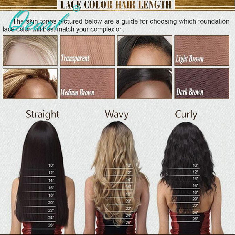 150 Ombre Color Wig Lace Front Human Hair Wig With Dark Brown Roots