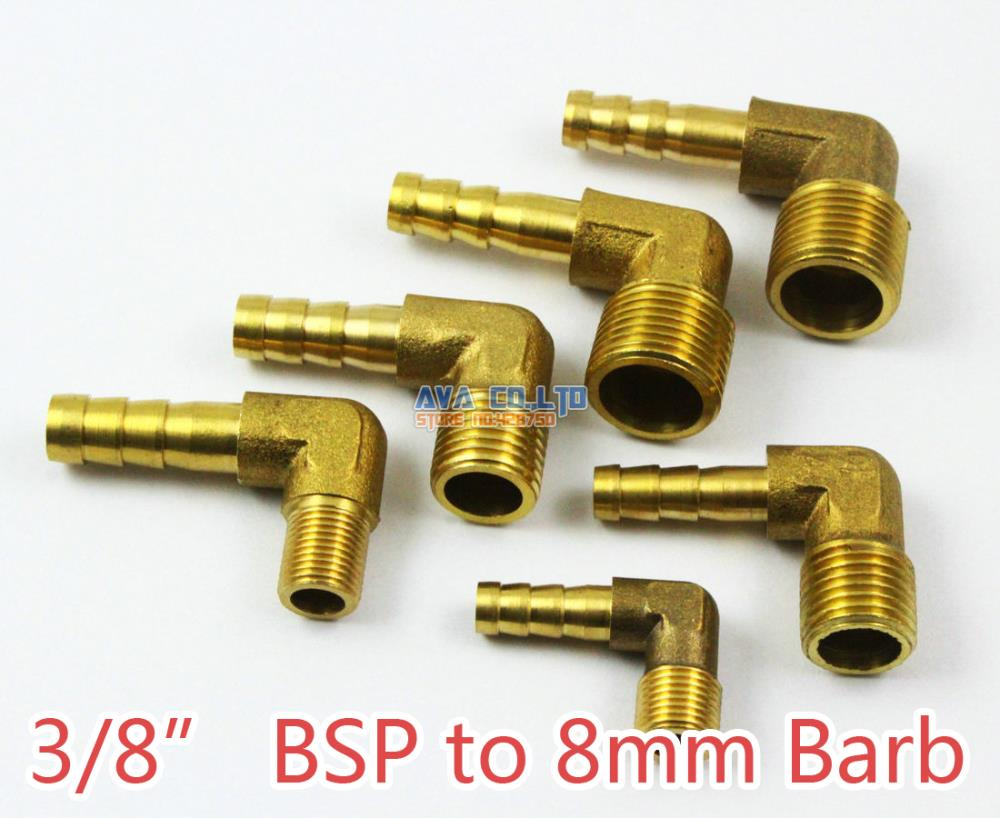 Aliexpress buy pieces brass elbow male quot bsp to