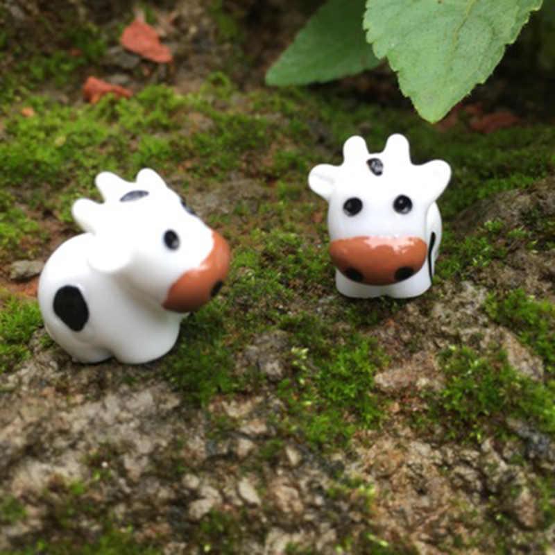 Zocdou 1 peça milch leite vaca gado leiteiro austrália eua modelo pequena estátua pequena estatueta artesanato figura ornamento miniaturas